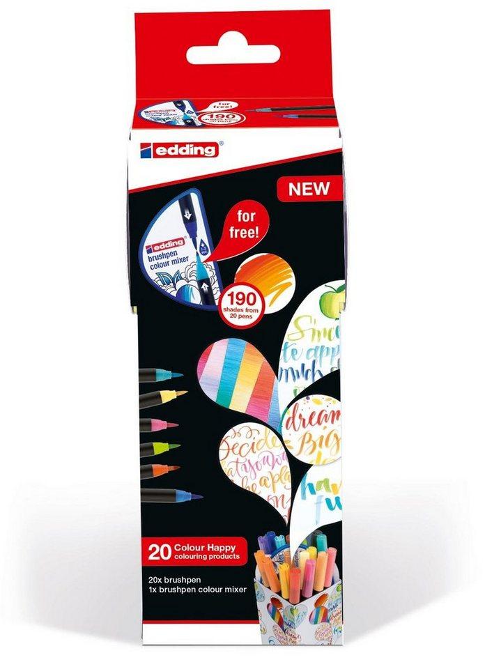"EDDING Mal-Stiftebox ""Colour Happy Box"" 20-tlg. plus Farbmixer online kaufen"