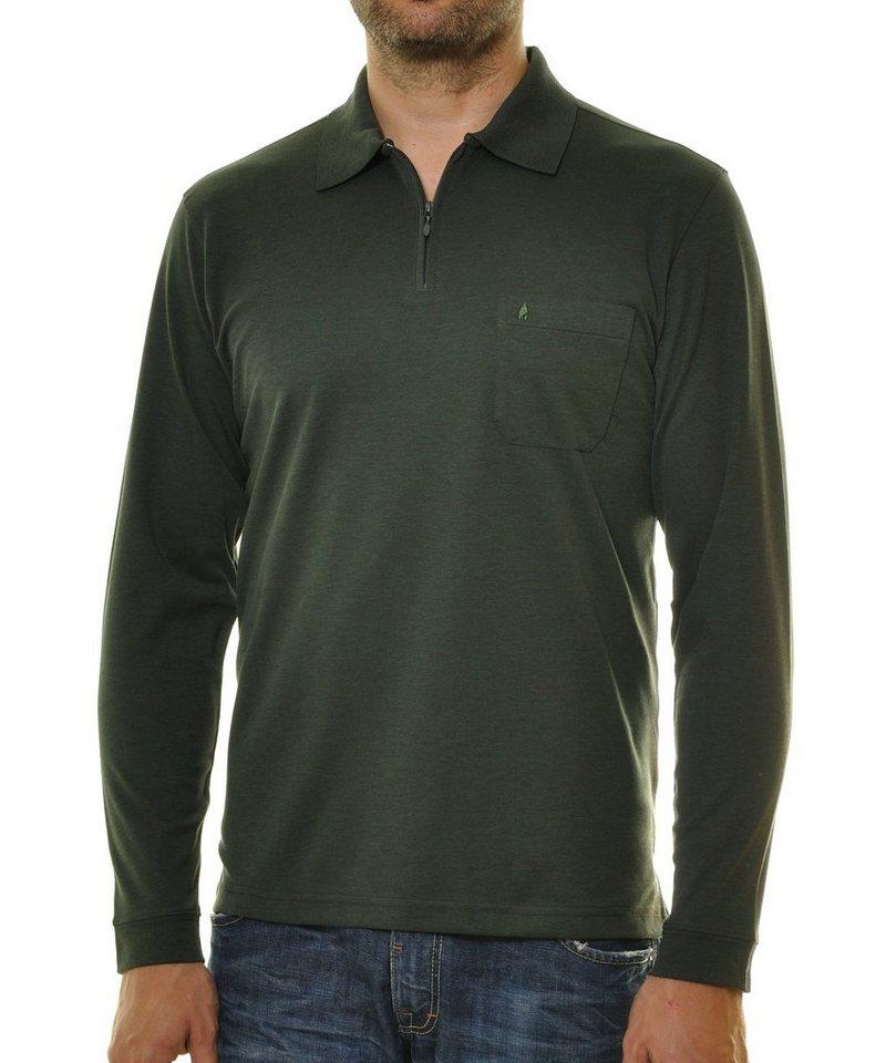 Ragman Poloshirt Gruen?$formatz$
