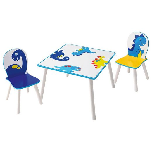 WORLDS APART Kindersitzgruppe, 3-tlg., Dinos