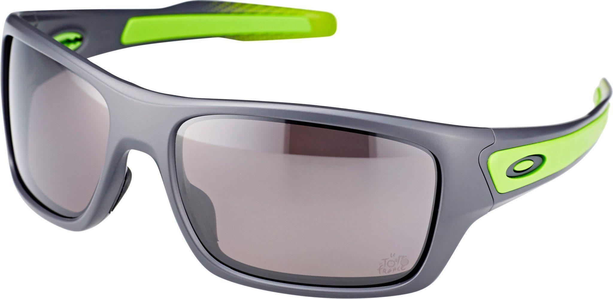 Oakley Sportbrille »Turbine«, schwarz, schwarz