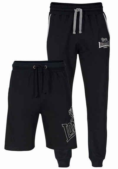 Lonsdale Jogginghose Set: Jogginghose und Shorts