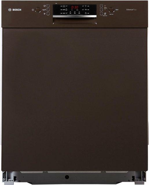 Küchengroßgeräte - BOSCH Unterbaugeschirrspüler, SMD46GM01E, 9,5 l, 12 Maßgedecke  - Onlineshop OTTO