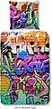Kinderbettwäsche »Graffiti«, good morning, im Graffitidesign, Bild 1