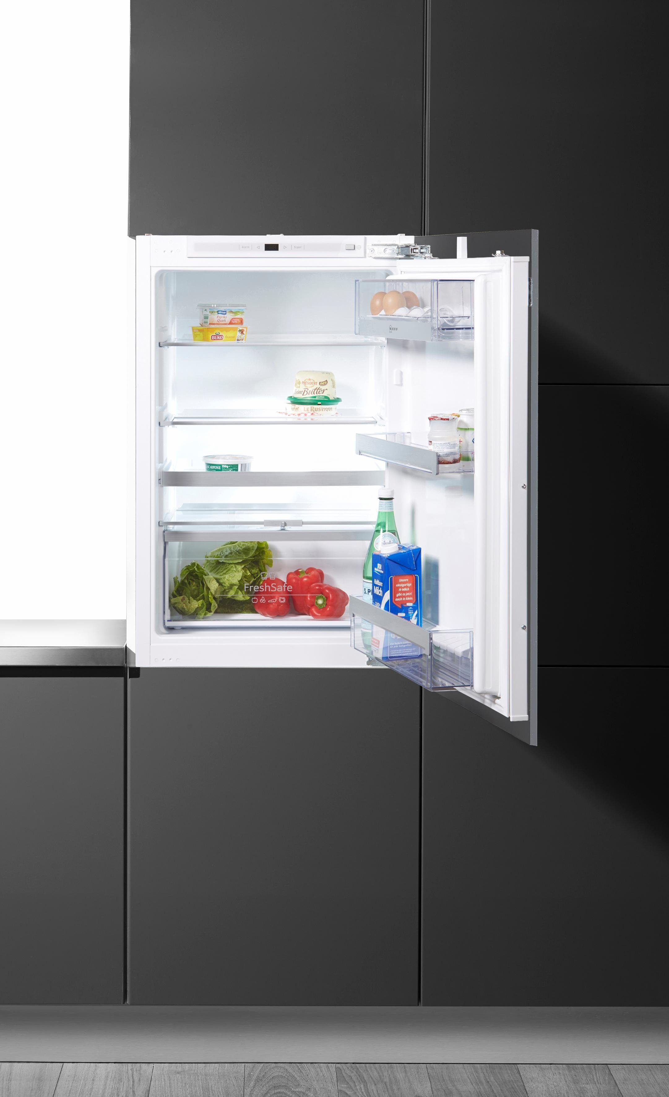 NEFF Einbaukühlschrank K236A3 / KI1213D40, 87,4 cm hoch, 55,8 cm breit, integrierbar