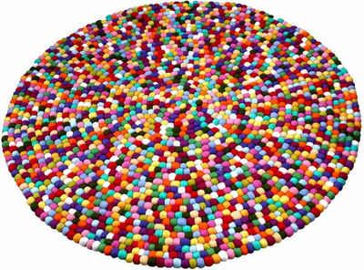 Runder teppich  Runder Teppich aus Wolle online kaufen | OTTO