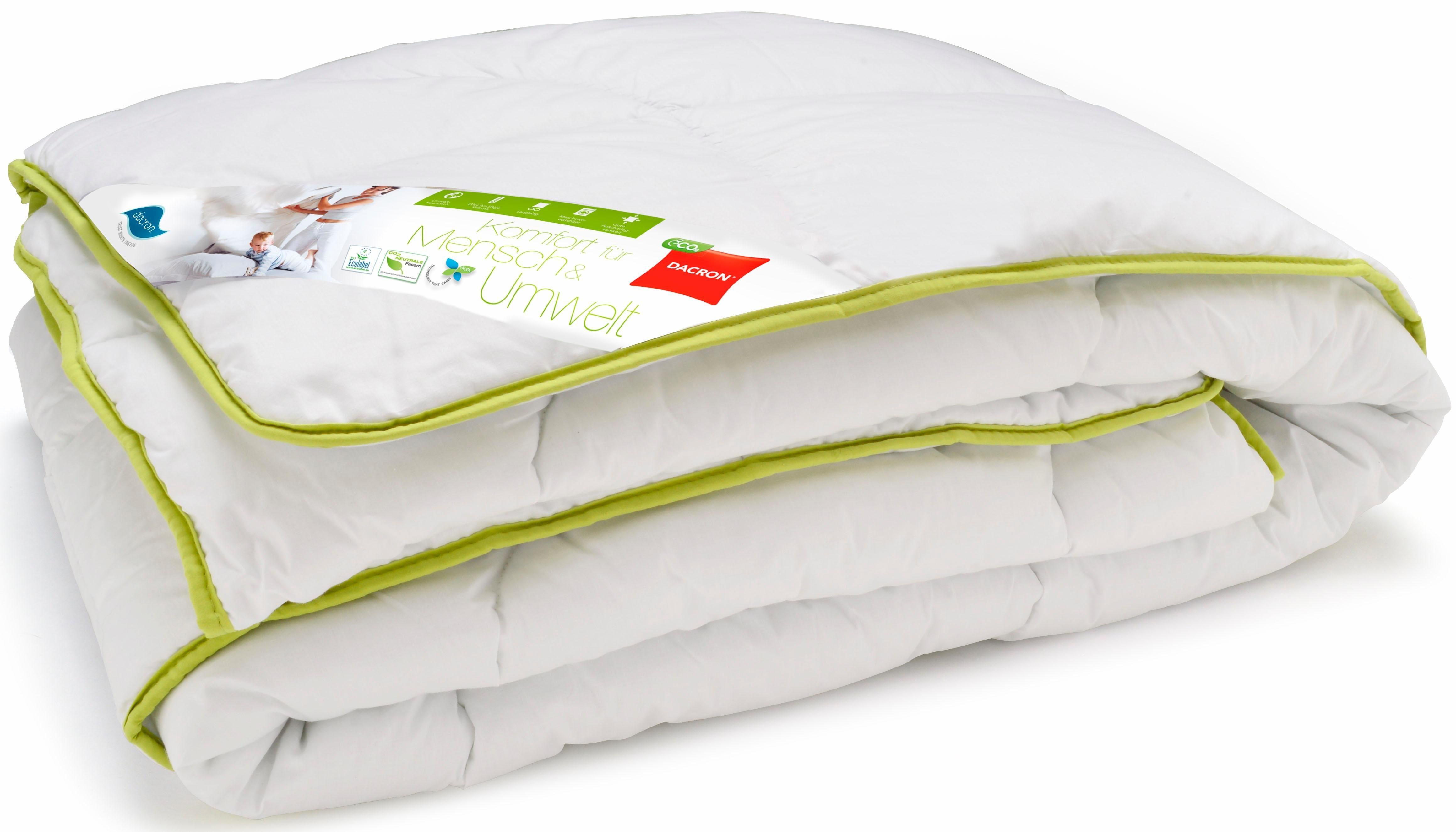 Microfaserbettdecke, »Dacron ECO«, Wendre, normal, Bezug: 100% Baumwolle, (1-tlg) | Heimtextilien > Decken und Kissen > Bettdecken | Wendre