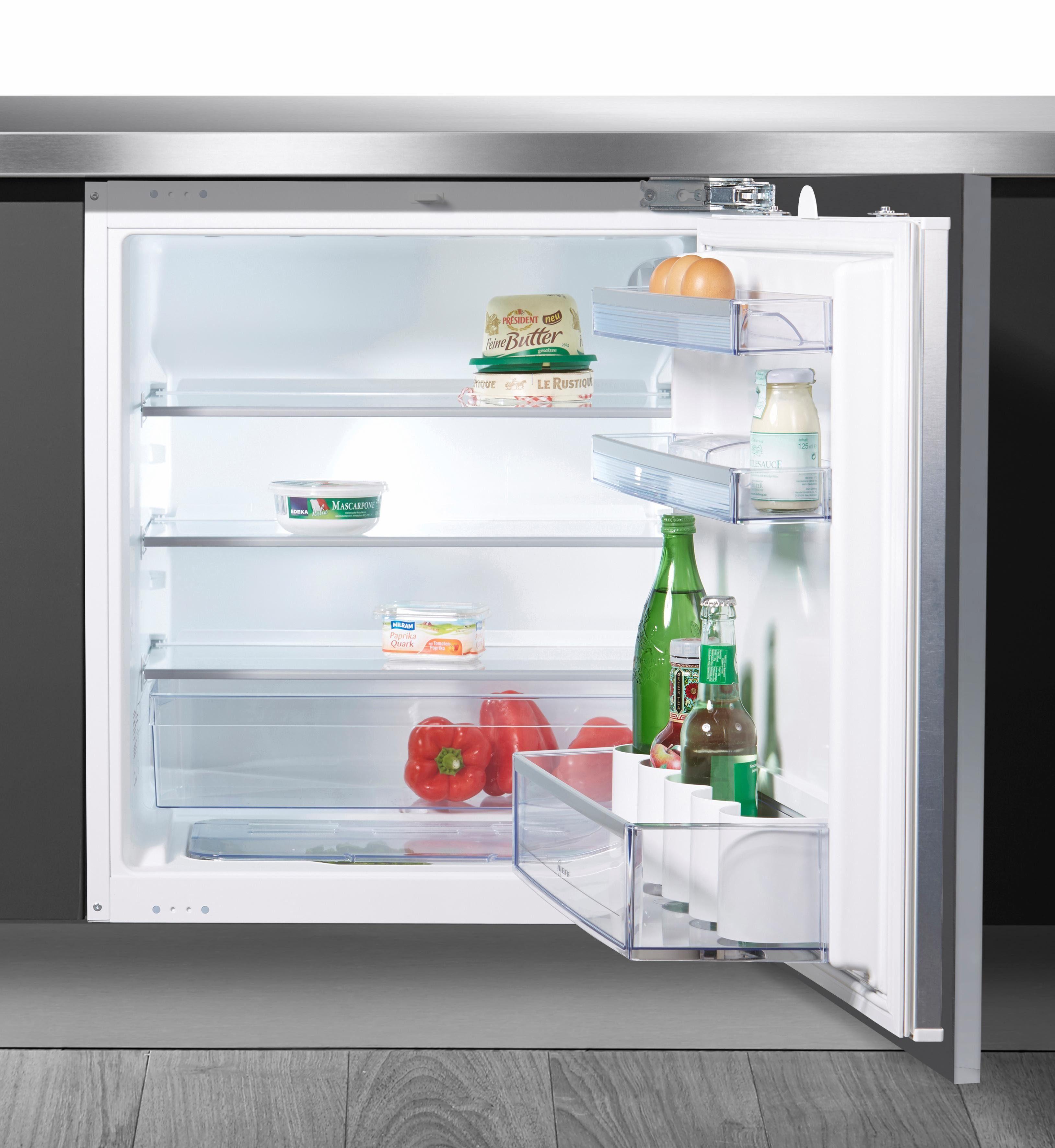 NEFF Einbaukühlschrank KU216A2 / K4316X8, 82,0 cm hoch, 59,8 cm breit, integrierbar