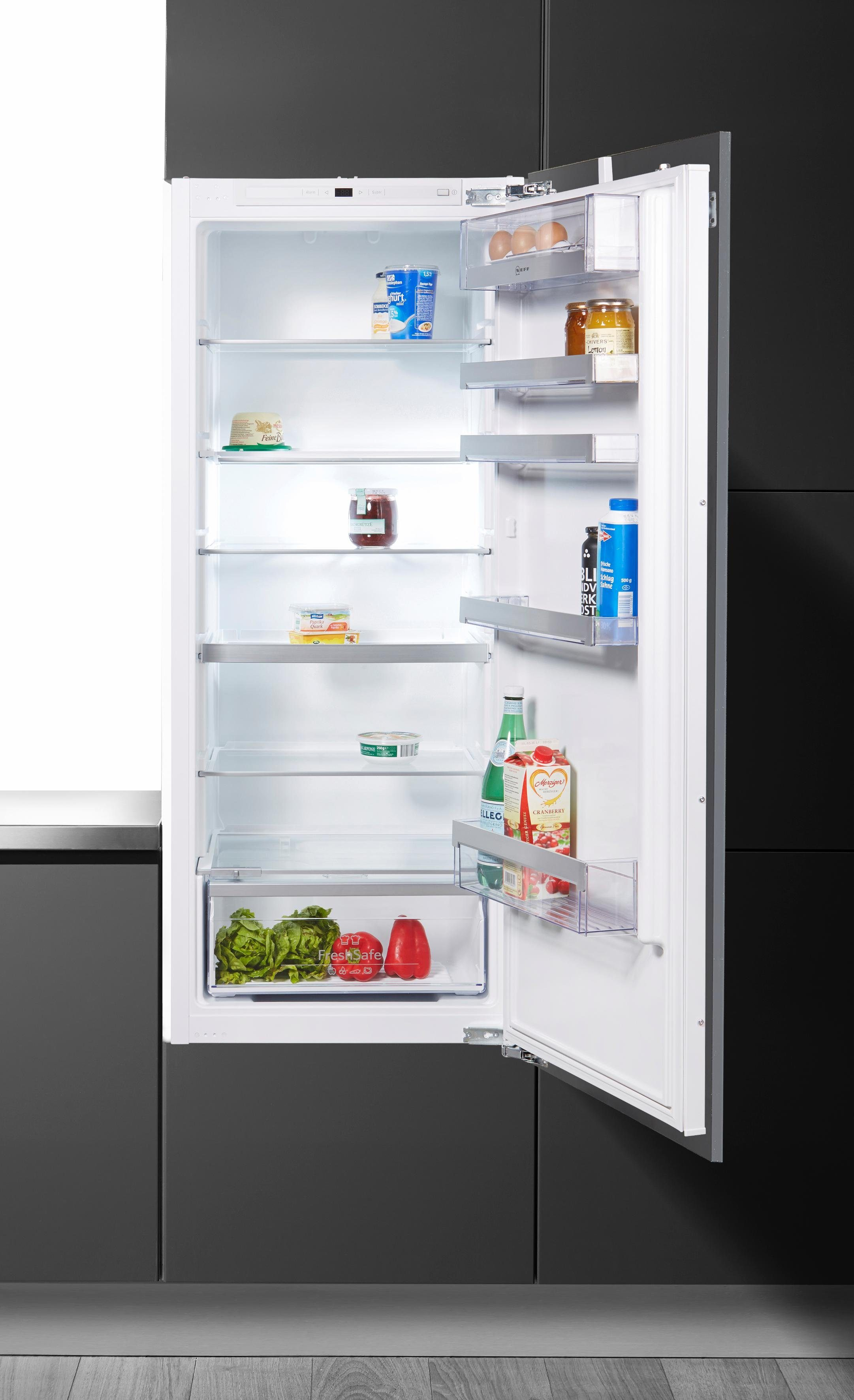 NEFF Einbaukühlschrank K535A2 / KI1513F30, 139,7 cm hoch, 55,8 cm breit, integrierbar