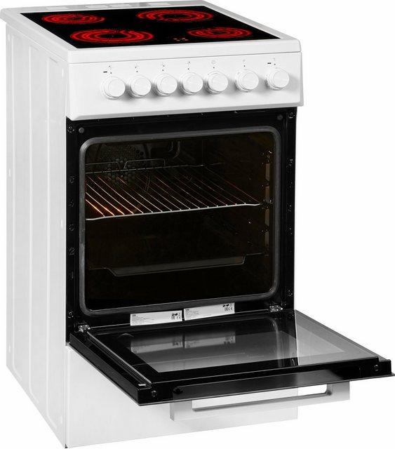 BEKO Elektro-Standherd FSM57100GW, Simple Steam Reinigungsfunktion