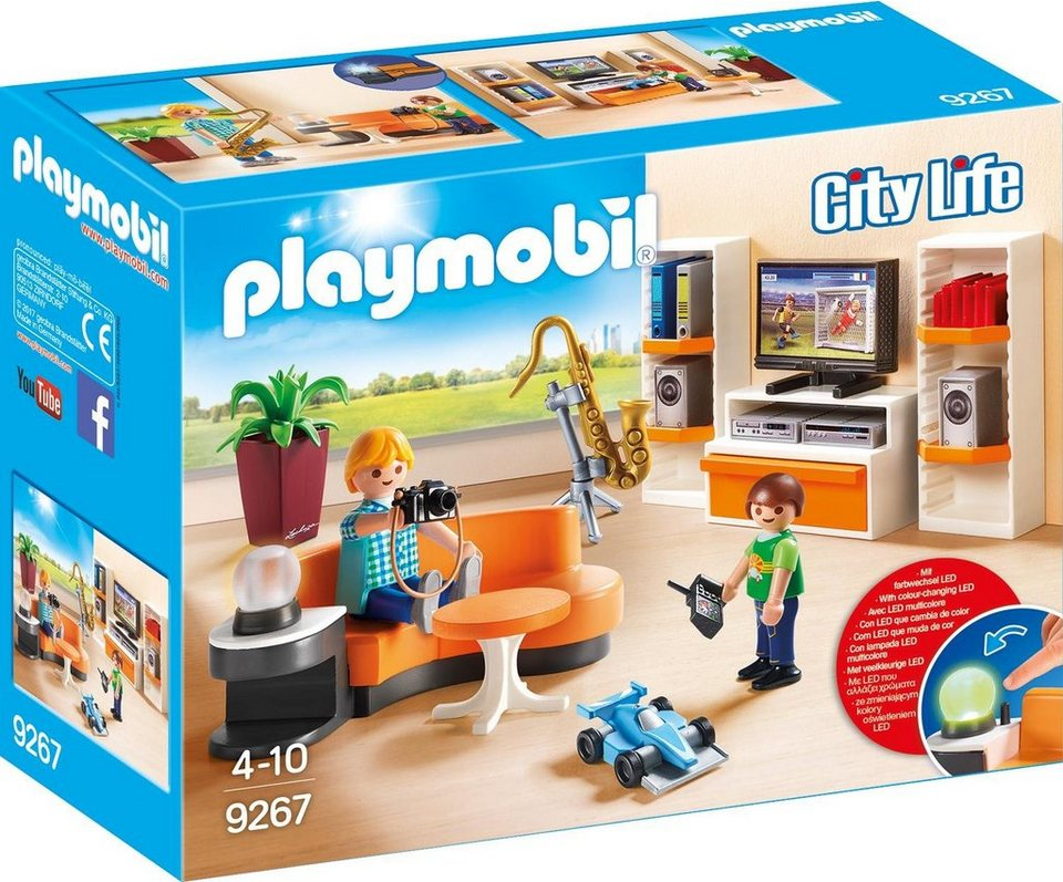 playmobil wohnzimmer 9267 city life kaufen otto. Black Bedroom Furniture Sets. Home Design Ideas