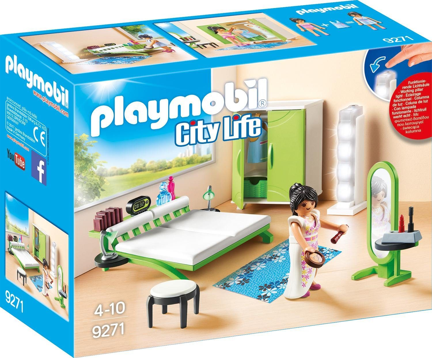 Playmobil® Schlafzimmer (9271), »City Life«