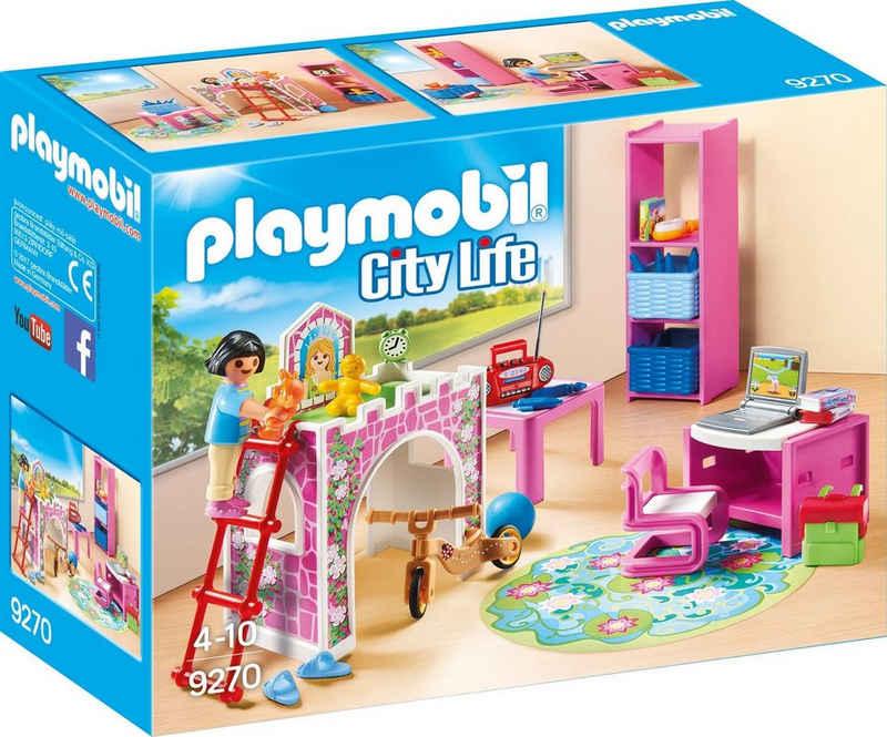 Playmobil® Konstruktions-Spielset »Fröhliches Kinderzimmer (9270), City Life«, Made in Germany
