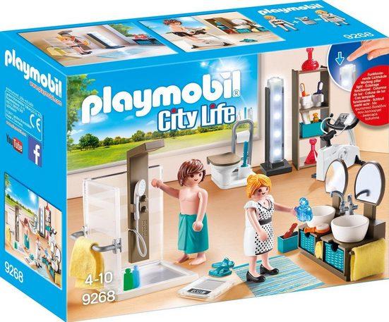 Playmobil® Konstruktionsspielsteine »Badezimmer (9268), City Life«