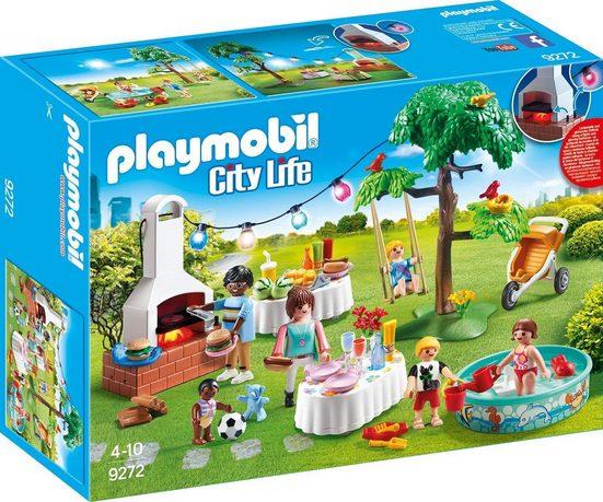 Playmobil® Konstruktionsspielsteine »Einweihungsparty (9272), City Life«