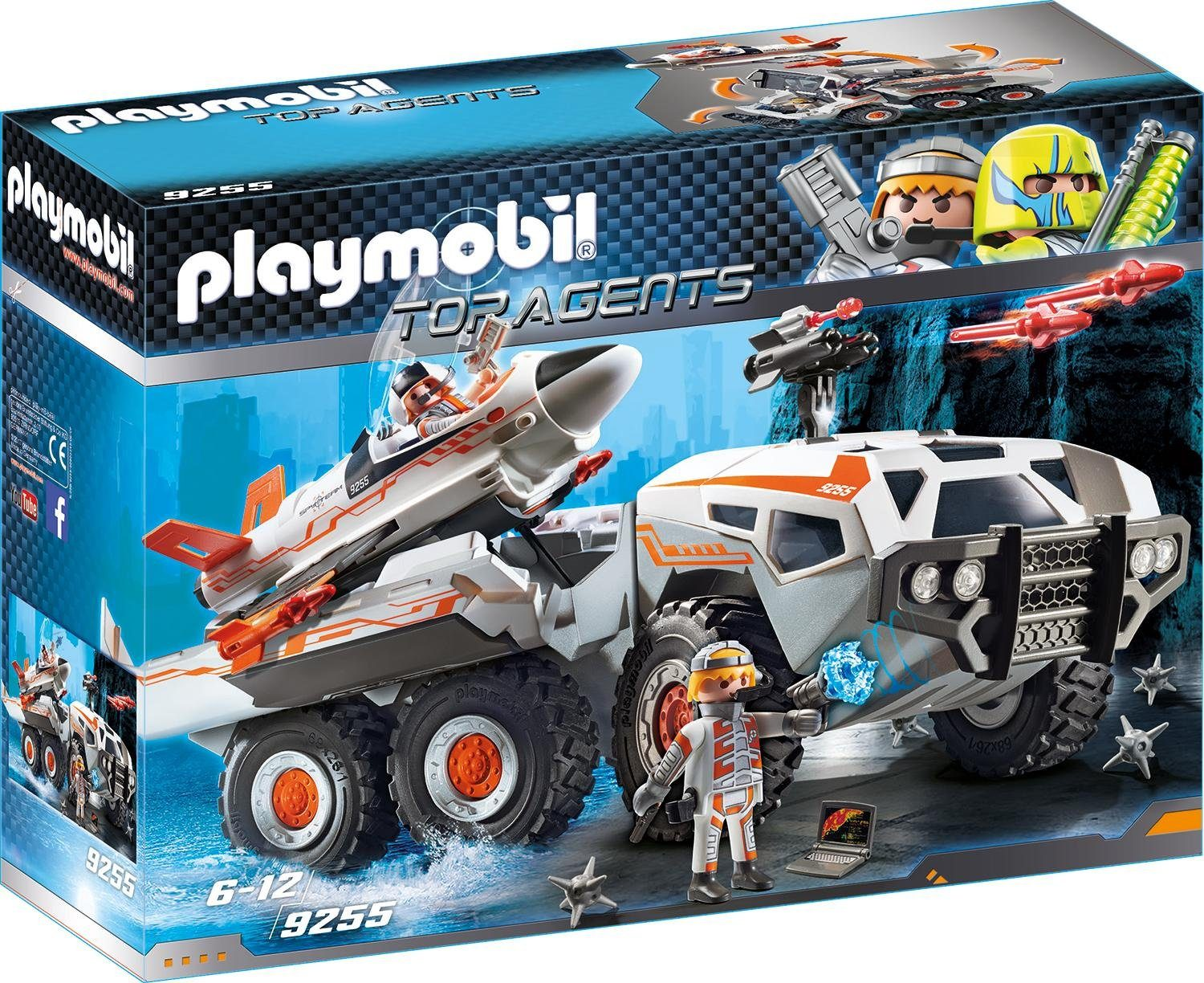 Playmobil® Spy Team Battle Truck (9255), »Top Agents«