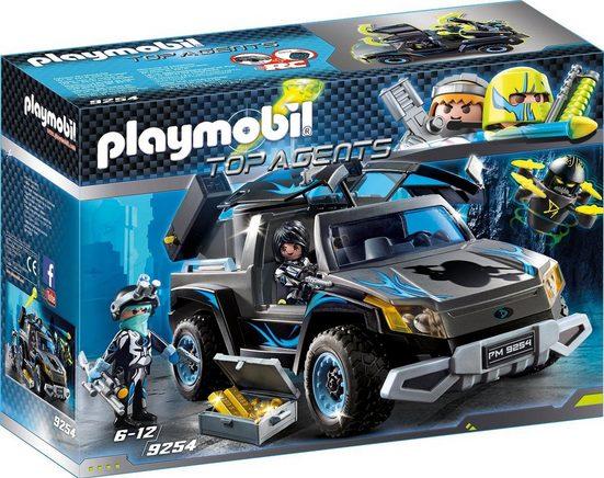 Playmobil® Konstruktionsspielsteine »Dr. Drone Pick-up (9254), Top Agents«