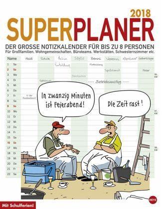 Kalender »Butschkow Superplaner 2018«