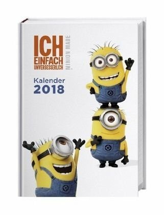Kalender »Minions 17-Monatskalenderbuch 2018«