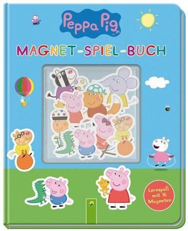 gebundenes buch peppa pig magnet spiel buch otto. Black Bedroom Furniture Sets. Home Design Ideas