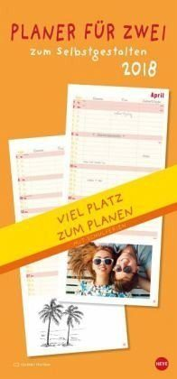 Kalender »Planer für zwei zum Selbstgestalten 2018«