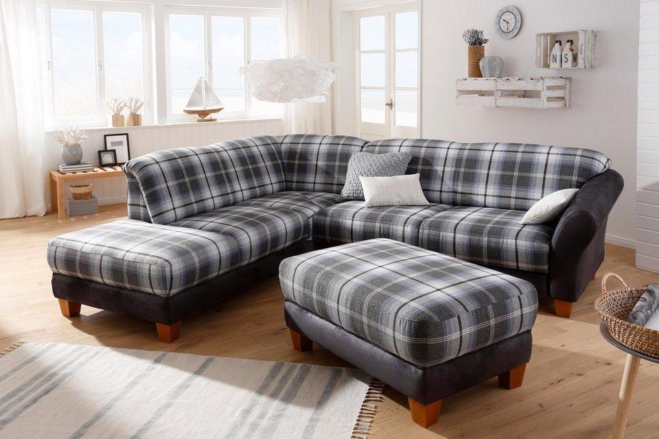 home affaire ecksofa gotland materialmix wahlweise mit. Black Bedroom Furniture Sets. Home Design Ideas