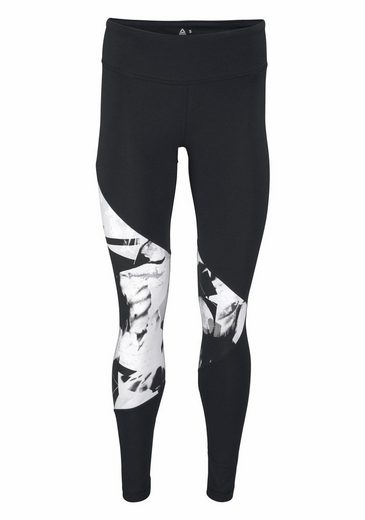 Reebok Leggings WOR CS ALLOVER PRINT PANEL TIGHTS