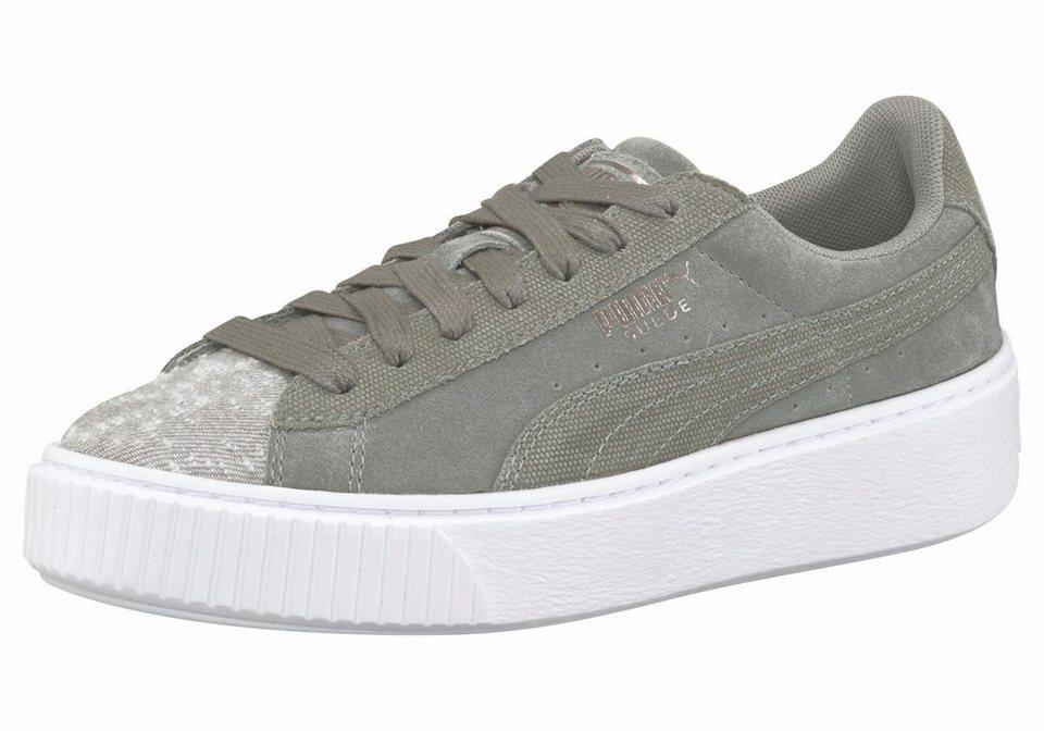 c6a621cdb914 PUMA »Suede Platform Pebble Womens« Sneaker kaufen   OTTO