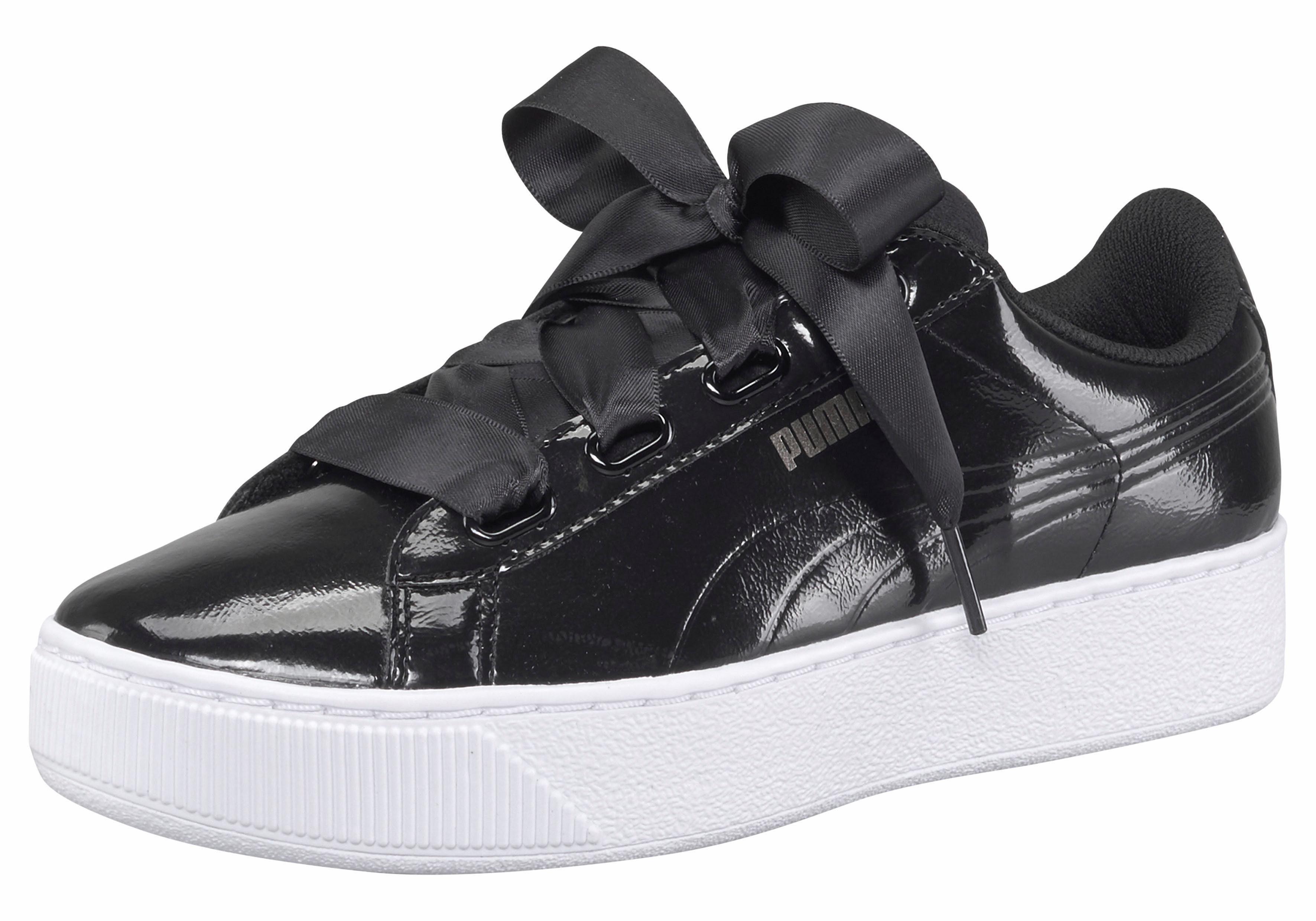 PUMA »Vikky Ribbon MU« Sneaker, schwarz, schwarz-weiß