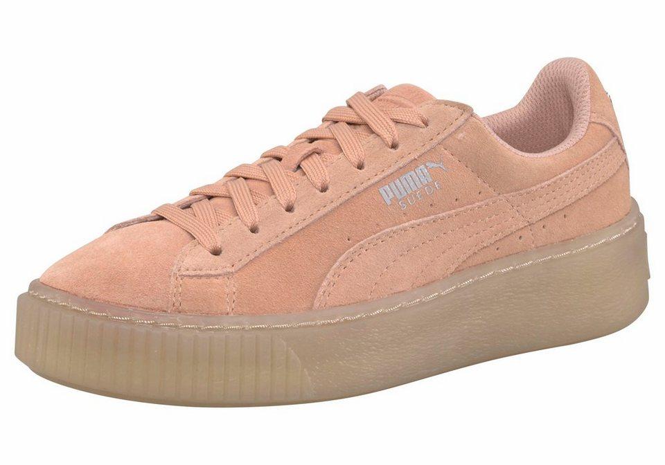 PUMA »Suede Platform Jewel Junior« Sneaker kaufen   OTTO ecf66116c7