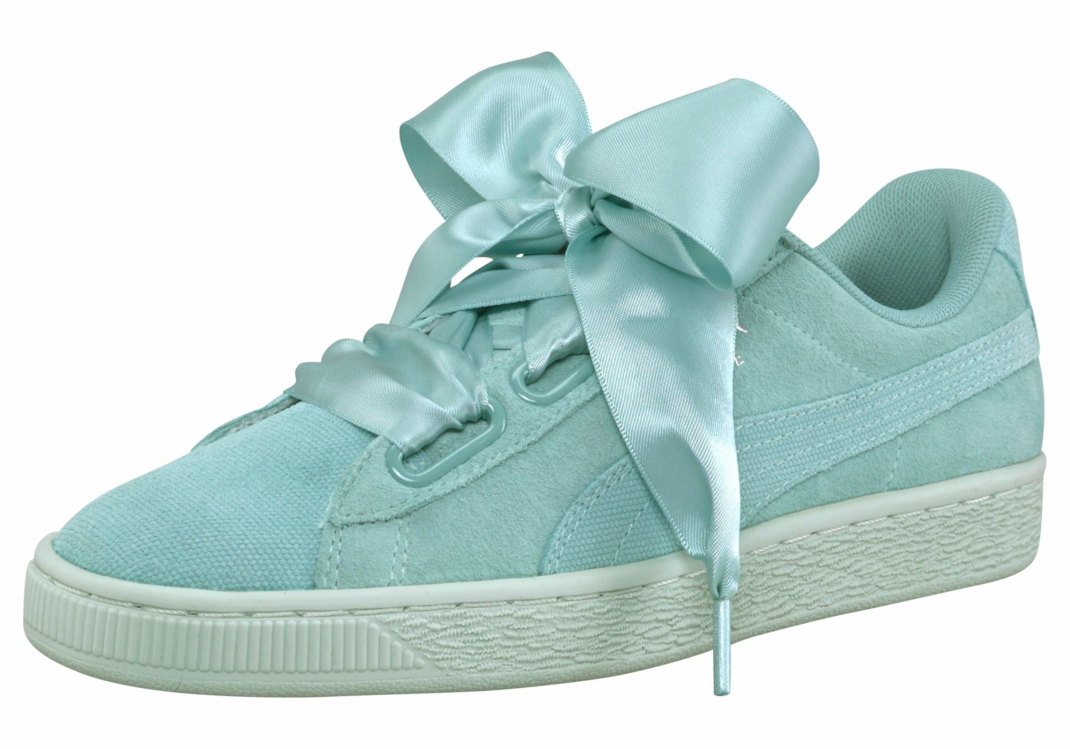 PUMA Suede Heart Pebble Womens Sneaker kaufen  aquablau