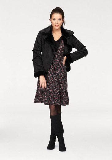 Aniston Jerseykleid, mit 3/4-langen Ärmeln