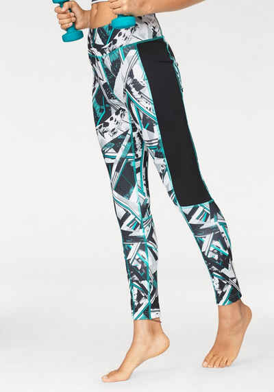 1a277228e0f1e Reebok Funktionstights »WORKOUT READY ALLOVER PRINT TIGHT -WING«