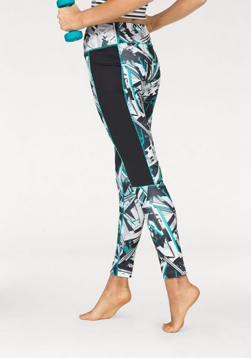 Reebok Funktionstights WORKOUT READY ALLOVER PRINT TIGHT -WING
