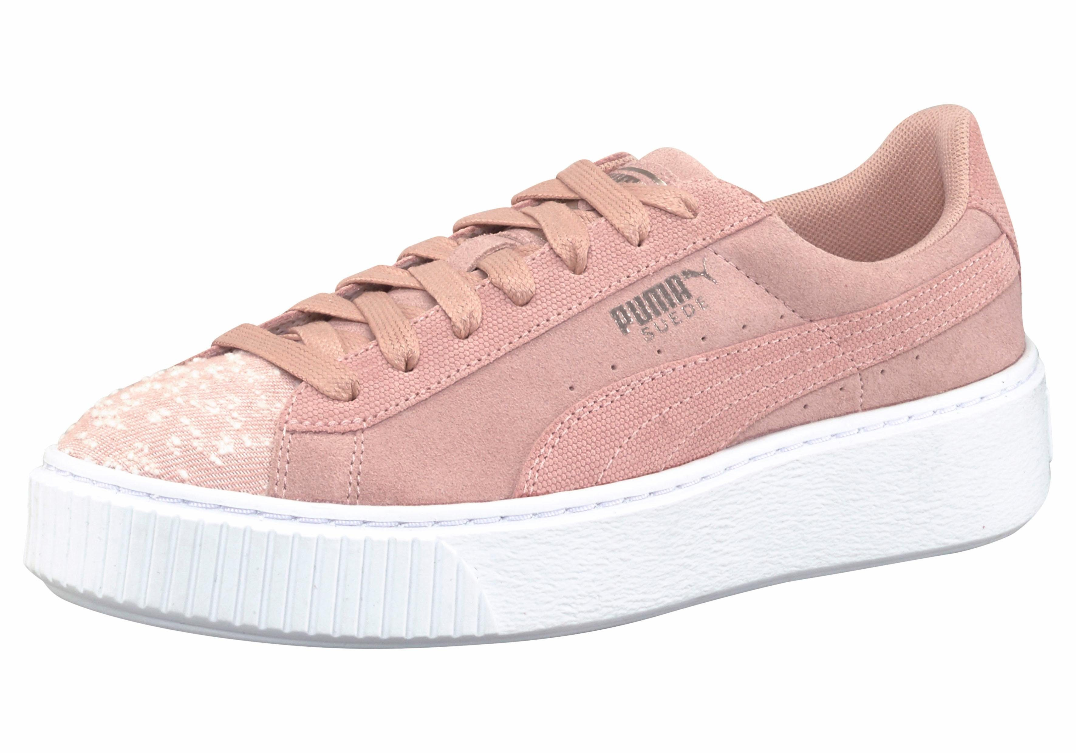PUMA Suede Platform Pebble Womens Sneaker kaufen  rosé
