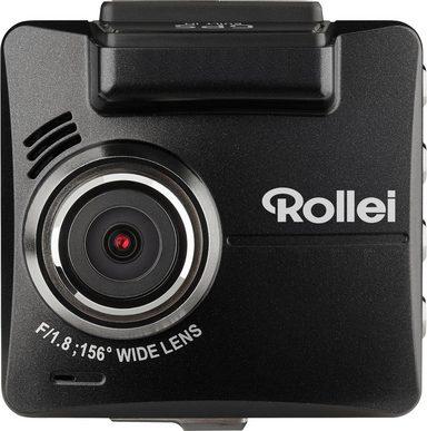 Rollei »CarDVD-318 1080p (Full HD)« Dashcam (Full HD, Bewegungssensor, Unterstützt Realzeit und Datumsanzeige im Video, Inkl. Parküberwachung, Systemanforderungen Windows: Win 7, Win 8, Win 10)