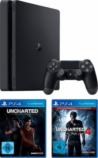 playstation 4 ps4 1tb uncharted lost legacy. Black Bedroom Furniture Sets. Home Design Ideas