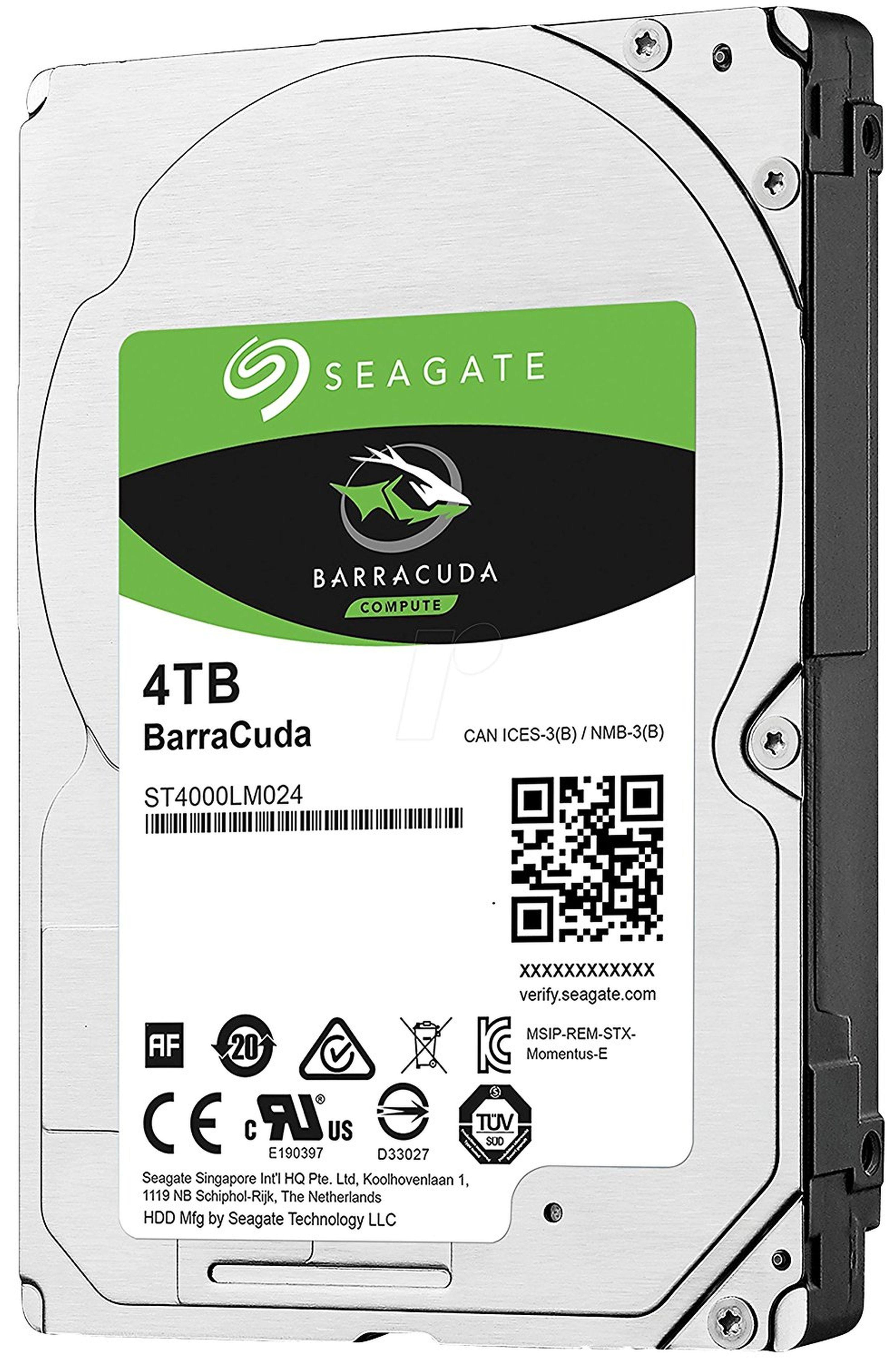 SEAGATE Barracuda HDD SATA 4 TB »ST4000LM024«