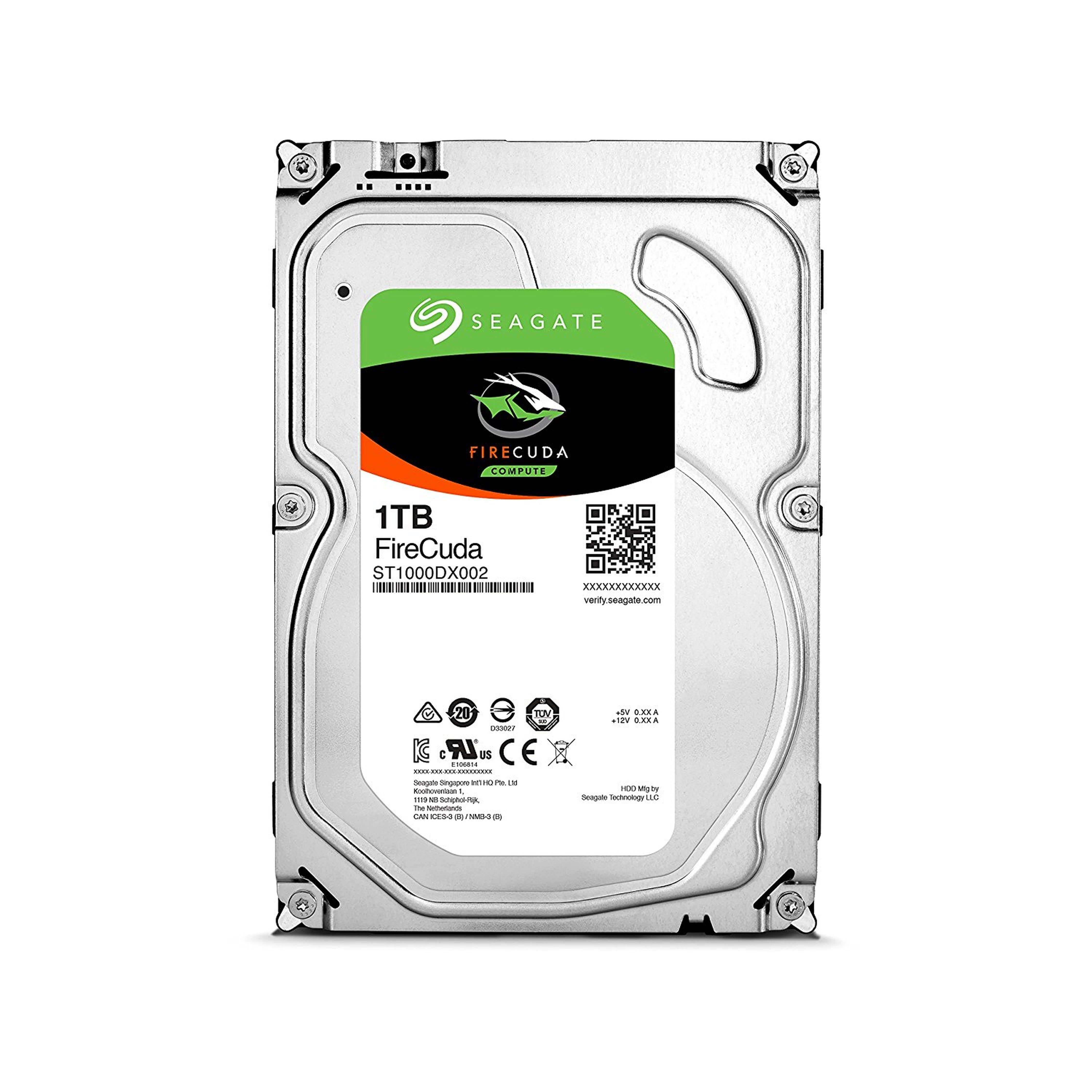 SEAGATE FireCuda Desktop SSHD 1 TB »ST1000DX002«