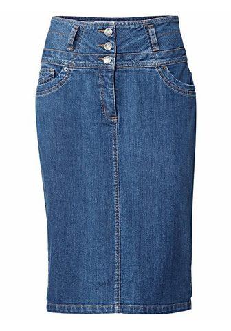 RICK CARDONA BY HEINE Džinsinis sijonas su Paaukštintu lieme...