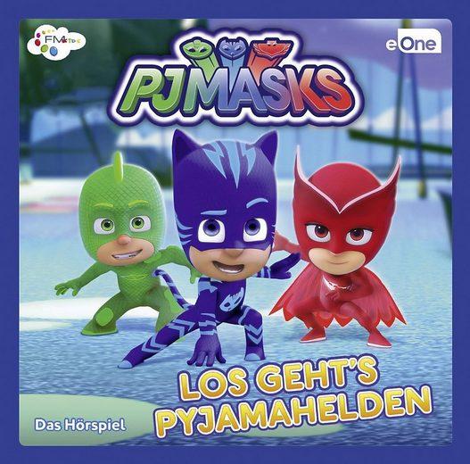 PJ Masks Hörspiel »CD PJ Masks - Los gehts Pyjamahelden 1«