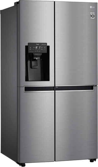 LG Side-by-Side GSJ461DIDV, 179 cm hoch, 91,2 cm breit, Door-in-Door