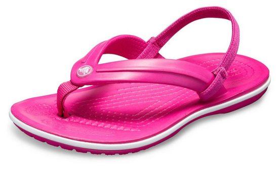 Crocs »Crocband Strap Flip« Sandale