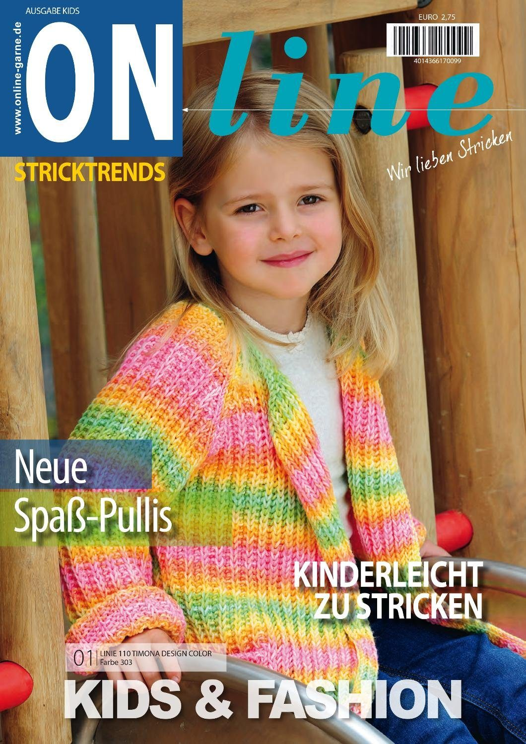 "Online Magazin ""Stricktrends Kids & Fashion"" 20 Seiten"