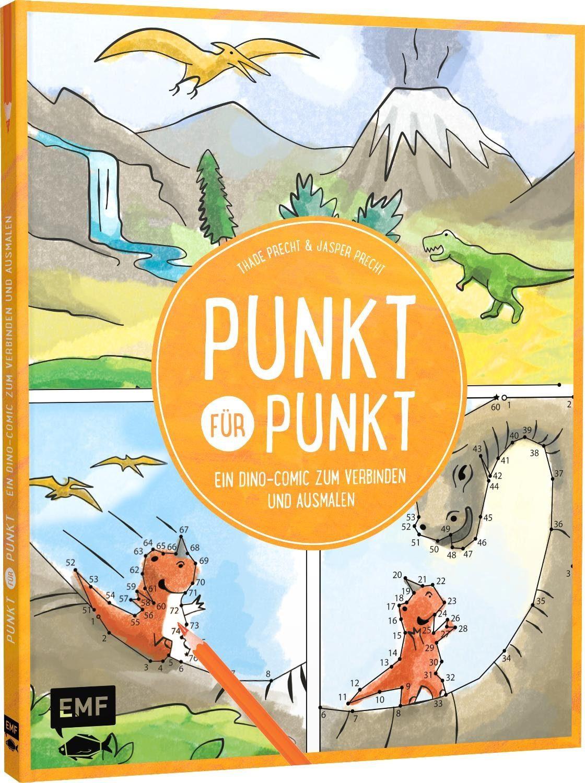 """EMF Ausmal-Buch """"Punkt für Punkt"""" 48 Seiten"""