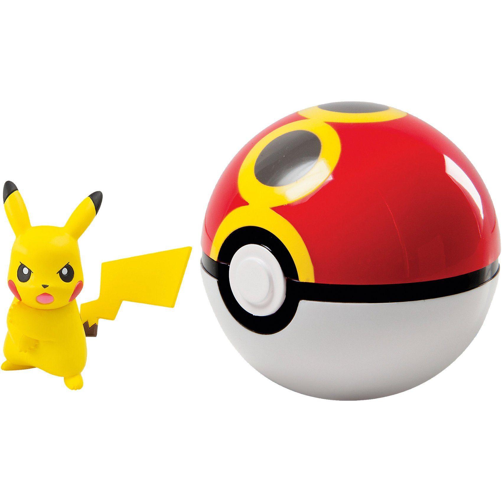 Tomy® Pokéball für Unterwegs Pikachu Z-Move Pose & Repeatball