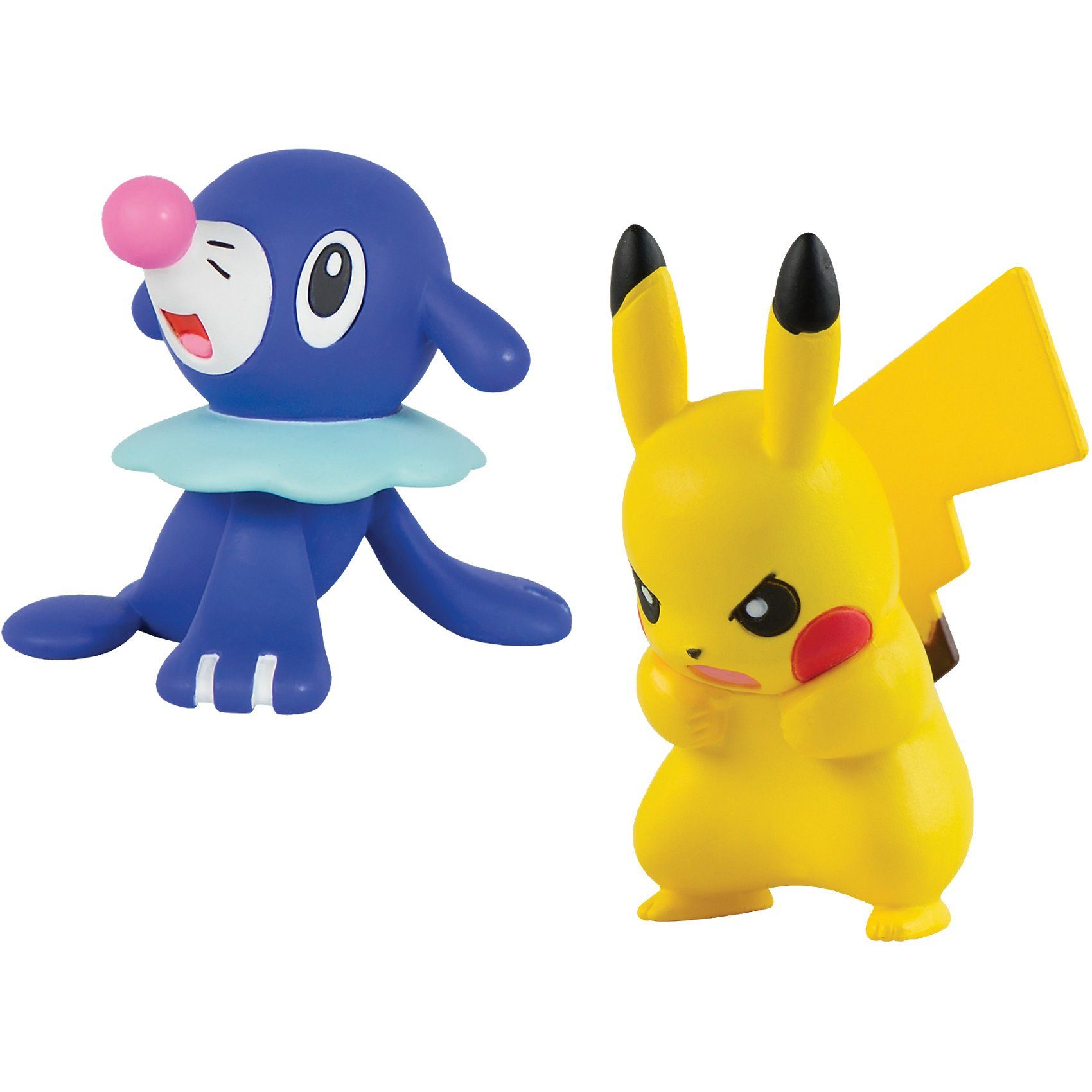 TOMY Pokémon 2 Actionfiguren - Pikachu vs Popplio