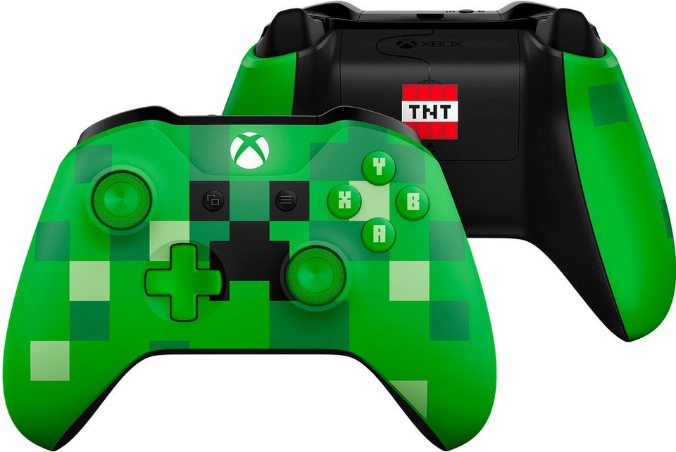 xbox one wireless controller minecraft creeper se otto. Black Bedroom Furniture Sets. Home Design Ideas