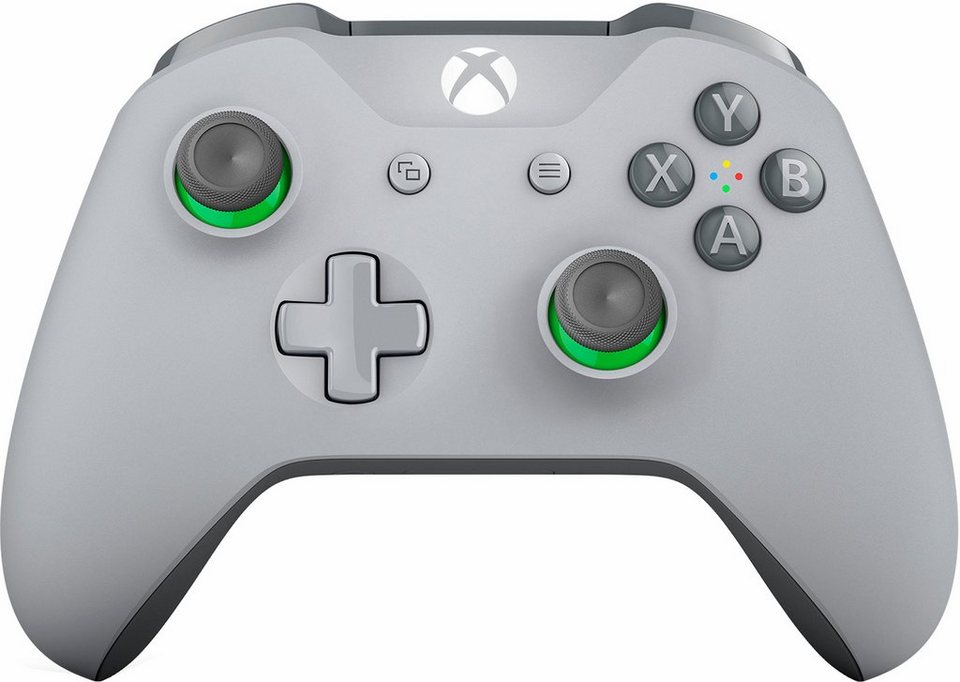 xbox one wireless controller grey green kaufen otto. Black Bedroom Furniture Sets. Home Design Ideas