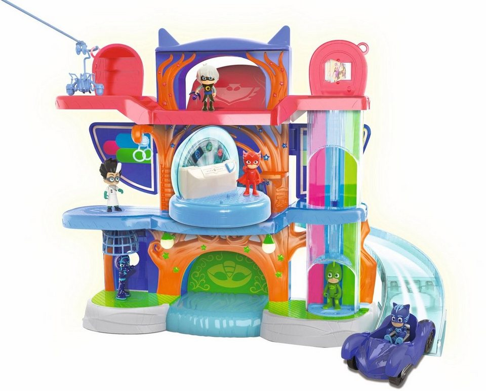 simba spielset mit sound und licheffekt pj masks hauptquartier online kaufen otto. Black Bedroom Furniture Sets. Home Design Ideas