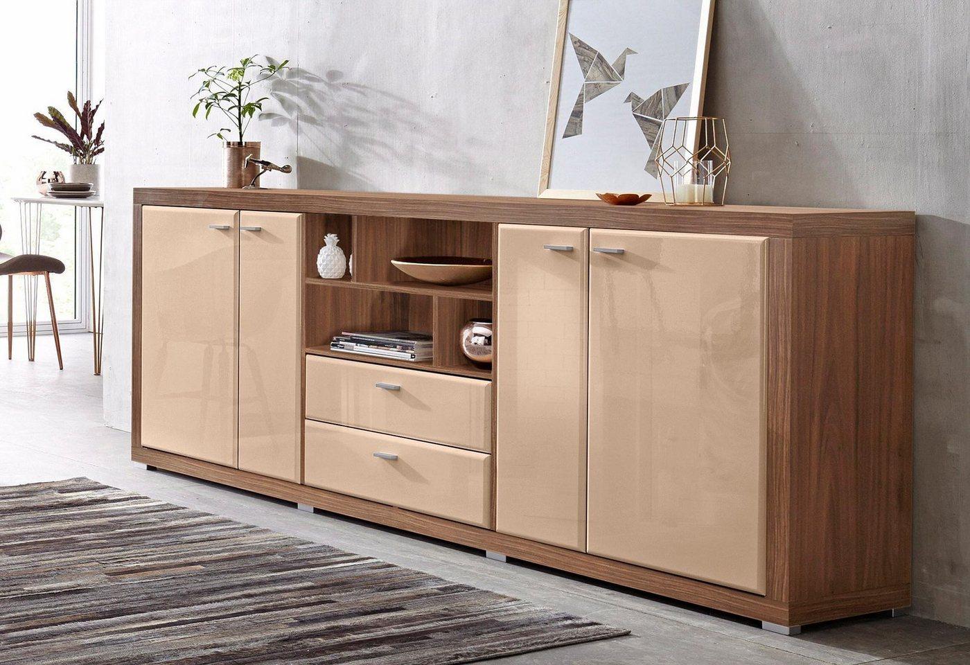 hochglanz sideboard otto preisvergleiche erfahrungsberichte und kauf bei nextag. Black Bedroom Furniture Sets. Home Design Ideas